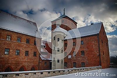 Darlowo castle