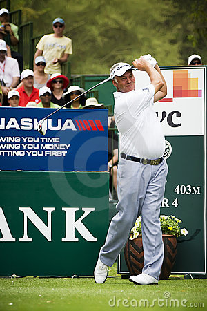 Darren Clarke - NGC2011 Editorial Stock Photo