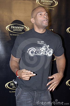 Darryl McDaniels on the red carpet Editorial Photography