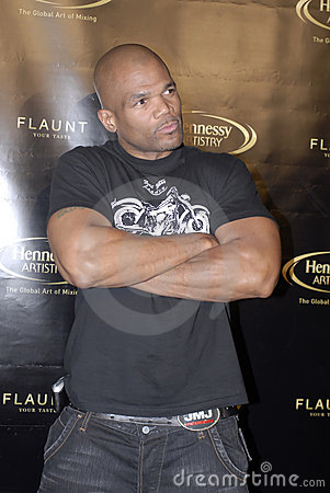 Darryl McDaniels on the red carpet Editorial Image