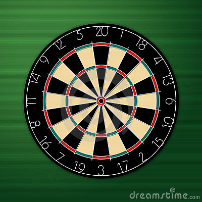 Dart Board Royalty Free Stock Images - Image: 11361989