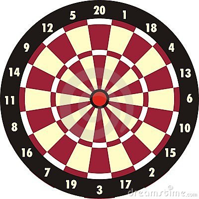 Free Dart Board Royalty Free Stock Photography - 2965867