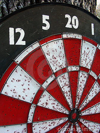Free Dart Board Royalty Free Stock Image - 937496