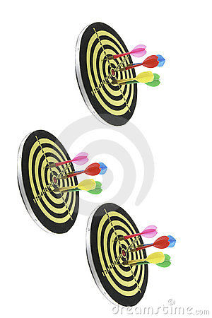 Dart Boards Royalty Free Stock Photo - Image: 5958725
