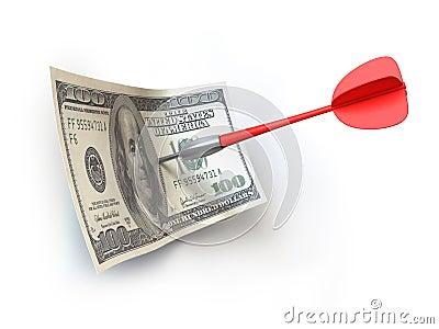 Dart and money
