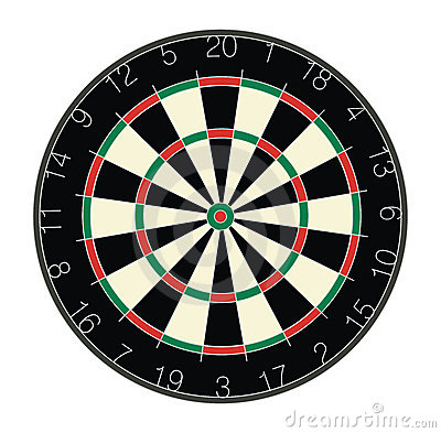 Free Dartboard Royalty Free Stock Photos - 184518