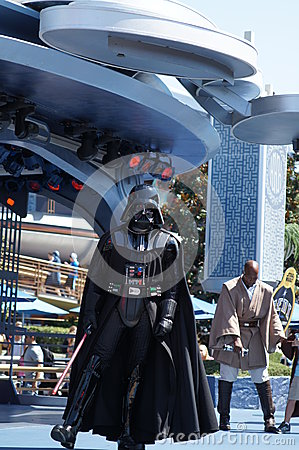 Darth Vader at Disneyland Editorial Image