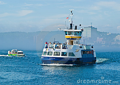 Dartmouth ferry, Halifax Editorial Image