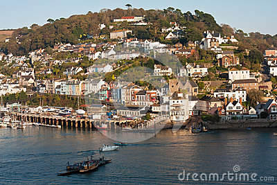 Dartmouth Kingswear Ferry Devon England