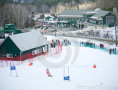 Dartmouth Skiway Editorial Stock Image