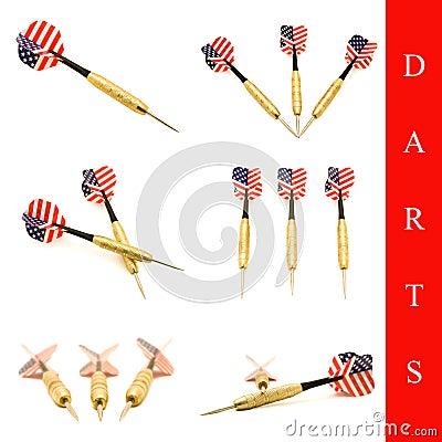 Darts arrow set