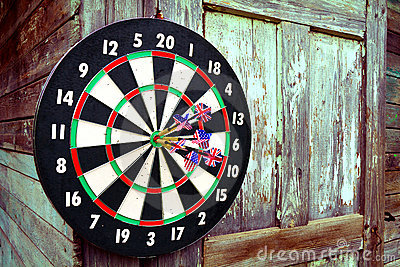 Darts with arrows