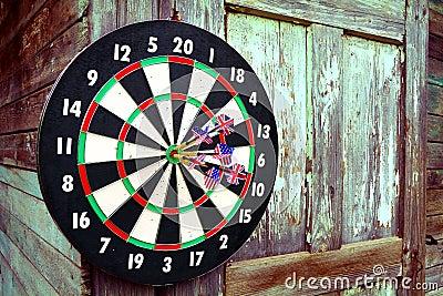 Darts with arrows