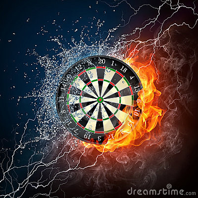 Free Darts Board Stock Image - 21665361