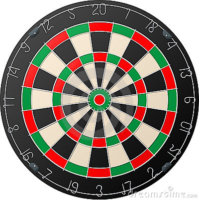Free Darts Board Royalty Free Stock Images - 4858539