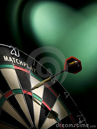 Free Darts Game Stock Image - 12509901
