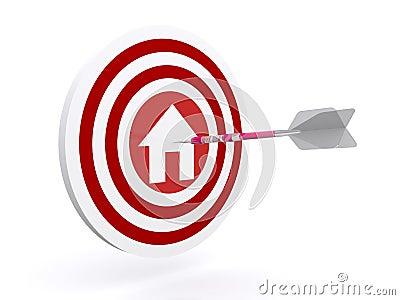 Darts on home target