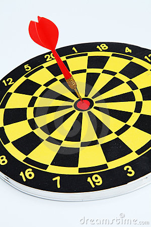 Free Darts Target Royalty Free Stock Photo - 21184765