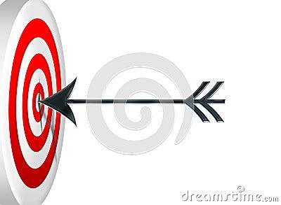 Darts at a target