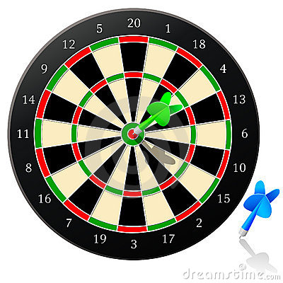 Free Darts - Vector Royalty Free Stock Images - 1881409
