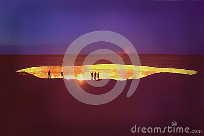 Darvaza (ou Derweze) - Turkmenistan