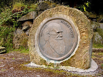 Charles Darwin Monument, Darwin Gardens Millennium
