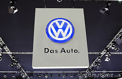 Das auto logo  Editorial Stock Image