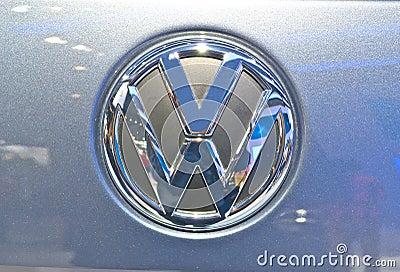 Das Auto logo Editorial Stock Photo