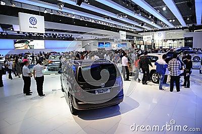 Das auto pavilion Editorial Stock Image