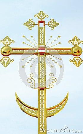 Das orthodoxe Kreuz