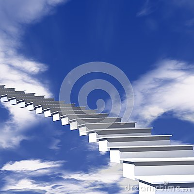 Das Treppenhaus zum Himmel
