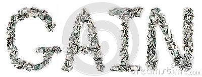 Gewinn - quetschverbundene Rechnungen 100$