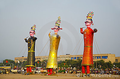 Dashahara - Indian Festival Editorial Stock Photo