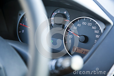 Within Speed Limit Car Dashboard
