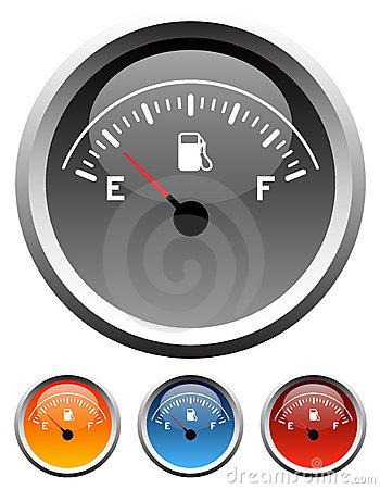 Free Dashboard Fuel Gauges Royalty Free Stock Images - 5423259