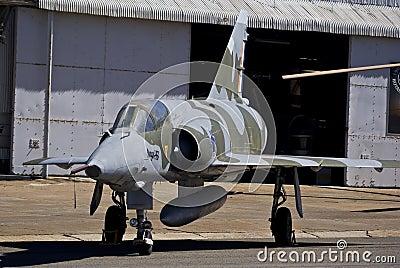 Dassault-Breguet Mirage III RZ - SAAF 835 Editorial Stock Image