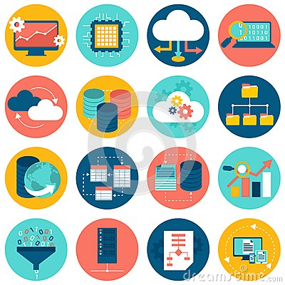 Free Data Analysis Icons Royalty Free Stock Images - 46376949