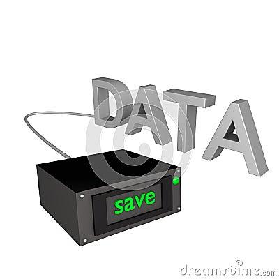 Data backup 3d
