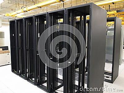Data Center and empty racks
