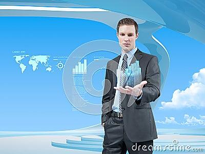 Data gömma i handflatan