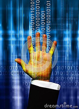 Data hand