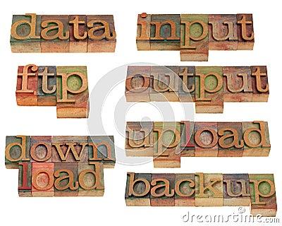 Data handling on internet