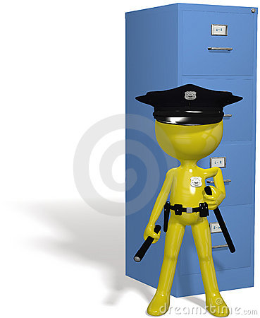 Data security cop guards protect safe files