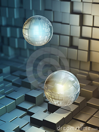Free Data Spheres Stock Photo - 6238410