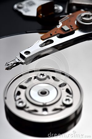 Data Storage on hardisk