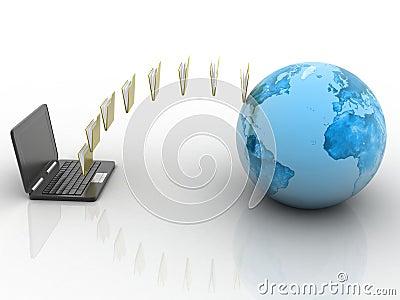 Data transfering