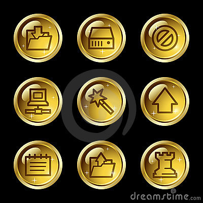 Data web icons
