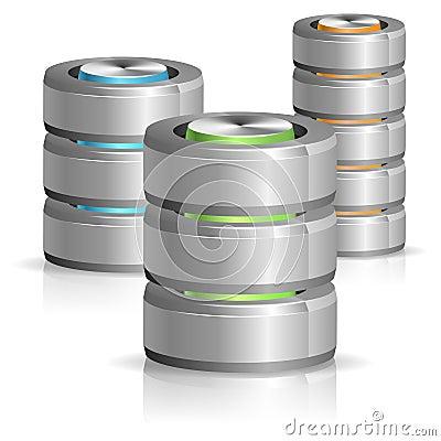 Free Database And Hard Disk Icon Royalty Free Stock Image - 27638966