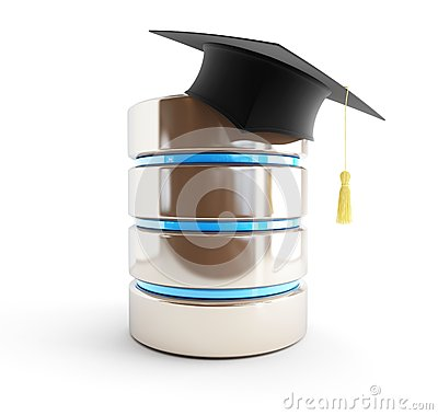 Database of graduates, school children, students