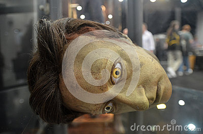 Datas Head At Destination Star Trek In  London Docklands 20th Oc Editorial Stock Image